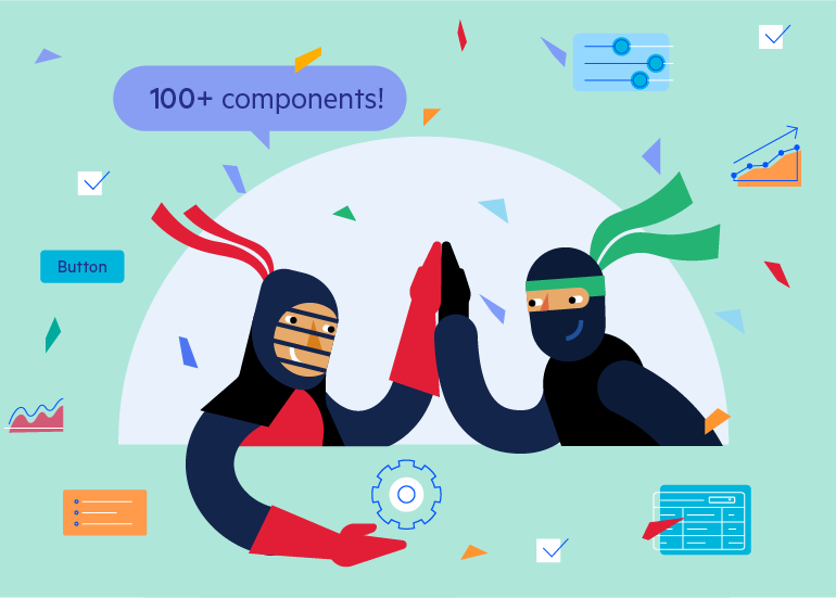 Over 100 Angular Components