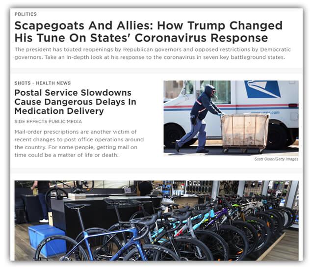 npr.org screenshot