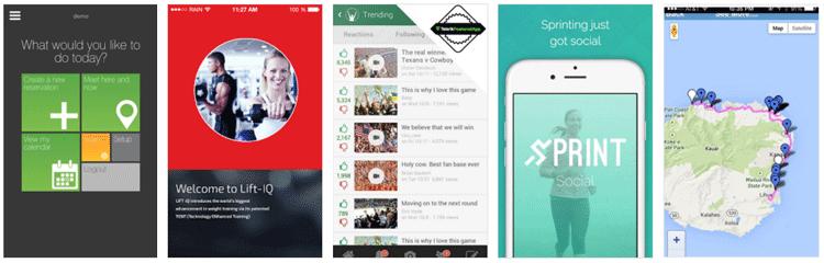 telerik platform app showcase