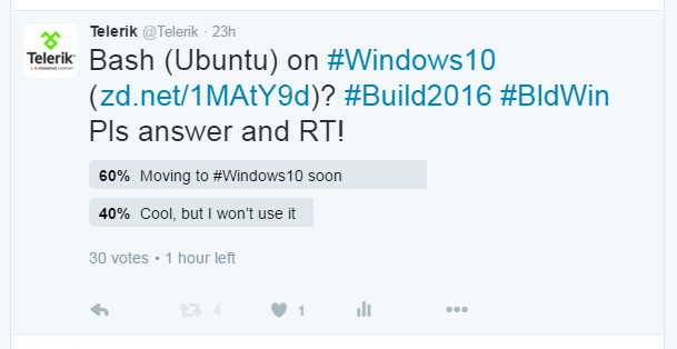 Moving to Windows 10 soon-poll results