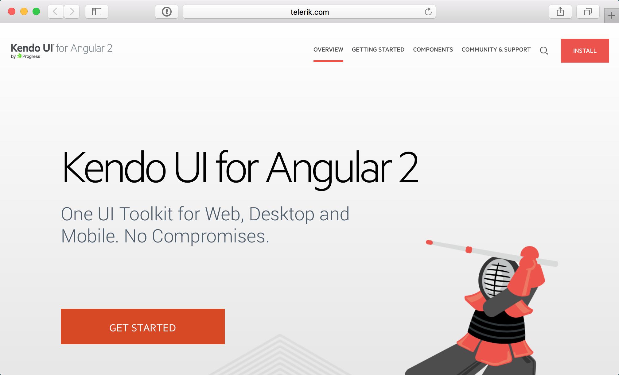 Kendo-UI-Angular-2
