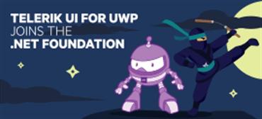Progress Telerik UI for UWP Joins the .NET Foundation_270x123