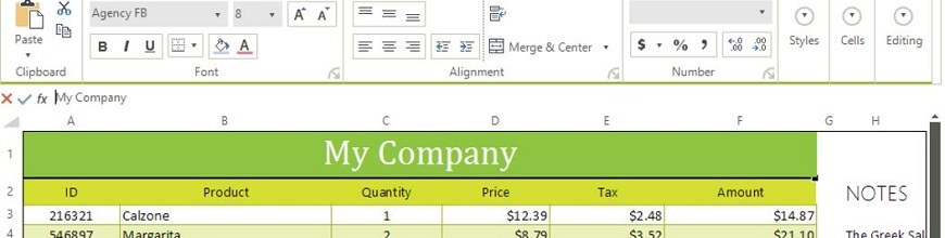 UI for WinForms Gains Spreadsheet, Themes & PDF Form Filling