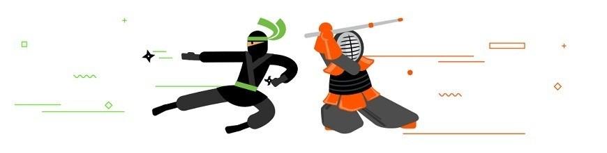 Ninja and Kendoka