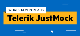 JustMock R1 2018 is Live, Featuring Web-Based Builds and More_270x123