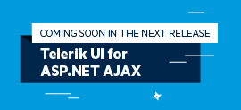 Sneak Peek Telerik UI for ASP.NET AJAX R1 2018_Core_270x123