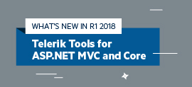 Whats New in R1 2018 for UI for ASP.NET MVC and UI for ASP.NET Core_270x123