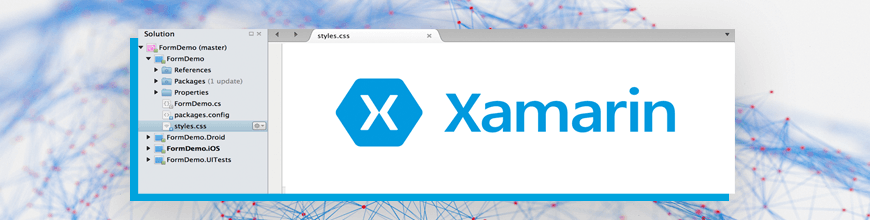 Xamarin.Forms Styling with CSS_870x220