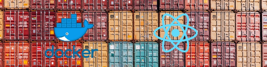Dockerizing React Applications for Continuous Integration_870x220