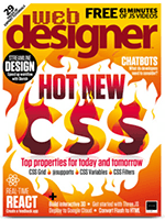 web Designer Magazine Cover Small