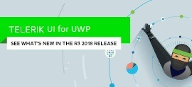 DataGrid and Calendar MultiDay View improvements in Telerik UI for UWP R3 2018_270x123