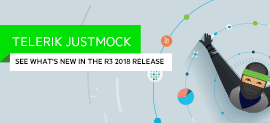 JustMock is Ready to Rock with Even More Supported C# Features in R3 2018_270x123