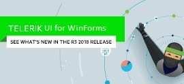 Modern Release for Telerik UI for WinForms R3 2018_270x123