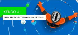 R3 2018 Sneak Peek What's Coming in Kendo UI_270x123