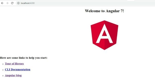 Run the Angular App