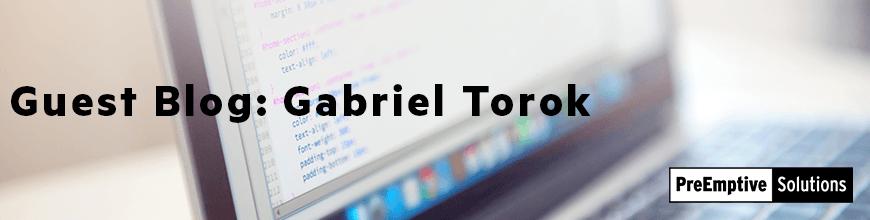 Guest Blog Gabriel Torok 870x220