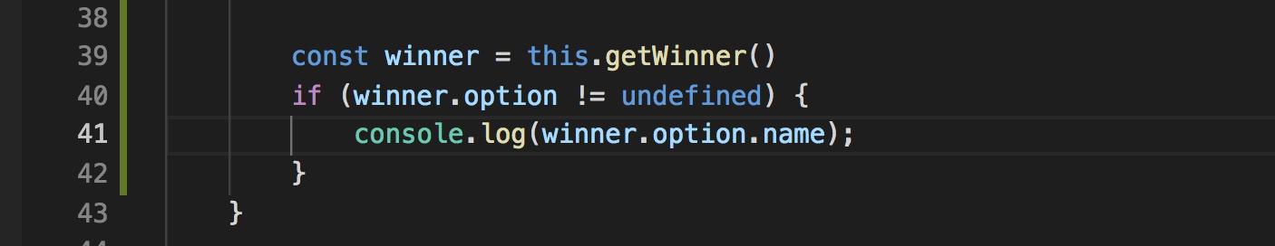 Visual Studio Code: TopicOption name