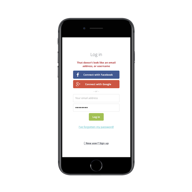 Best Practices For Designing The Mobile App Login Screen