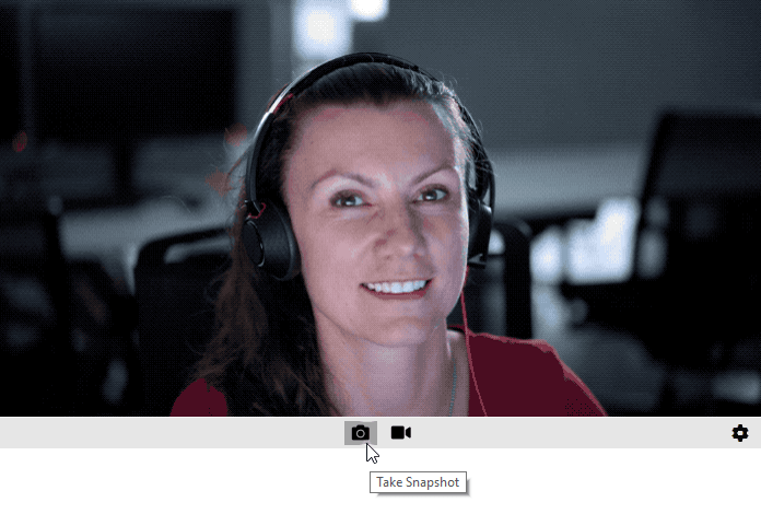 webcam taking snapshots
