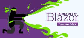 Telerik UI for Blazor Banner_270x123