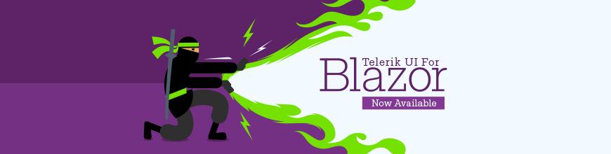 Telerik UI for Blazor Banner_870x220