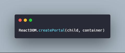 Create Portal