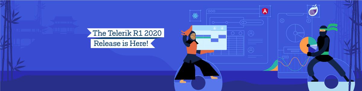 Telerik Kendo UI R1 2020 Release_1200x303