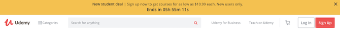 During the coronavirus crisis, Udemy is offering heavy discounts to new students, with courses costing as low as $10.99.
