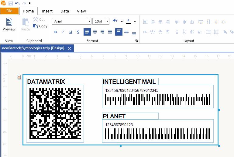 Barcode Enhancements