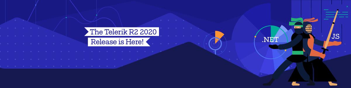 Telerik Kendo Release R2 2020_1200x303