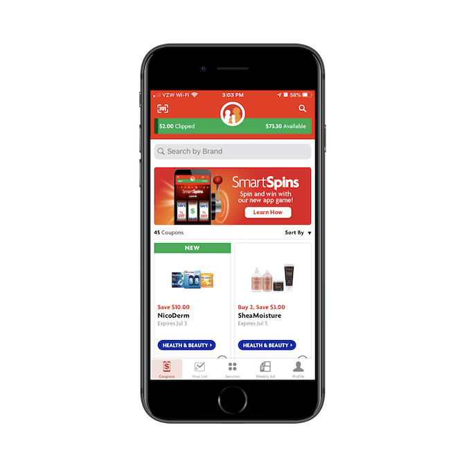 Family Dollar mobile app isn't meant for ecommerce, but to accompany shoppers at retail stores and to help them save money through coupon clipping.