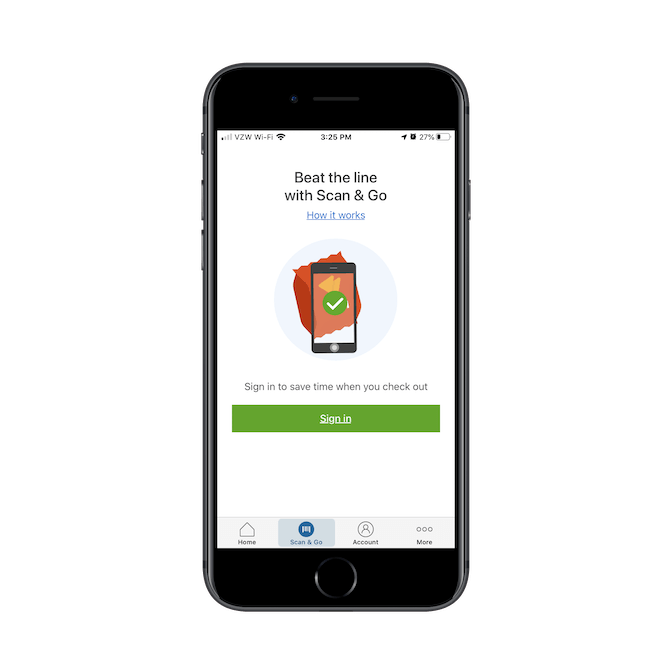 The Sam's Club 'Scan & Go' feature is available to customers who want to pay for their purchases through the app instead of go through checkout.