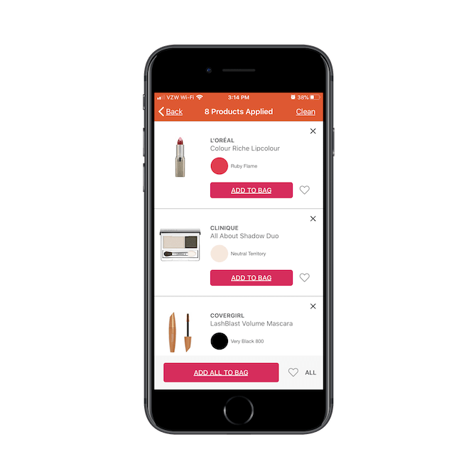Ulta has not only created an AR product that helps shoppers find the right products, but it's streamlined the ordering and checkout process with GLAMlab Live Try-On.