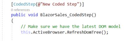 Code - RefreshDOM
