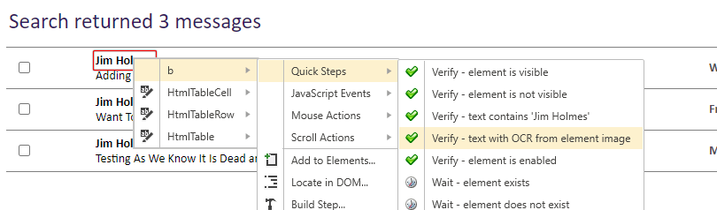 OCR Verification Step to Filter Text According to Criteria