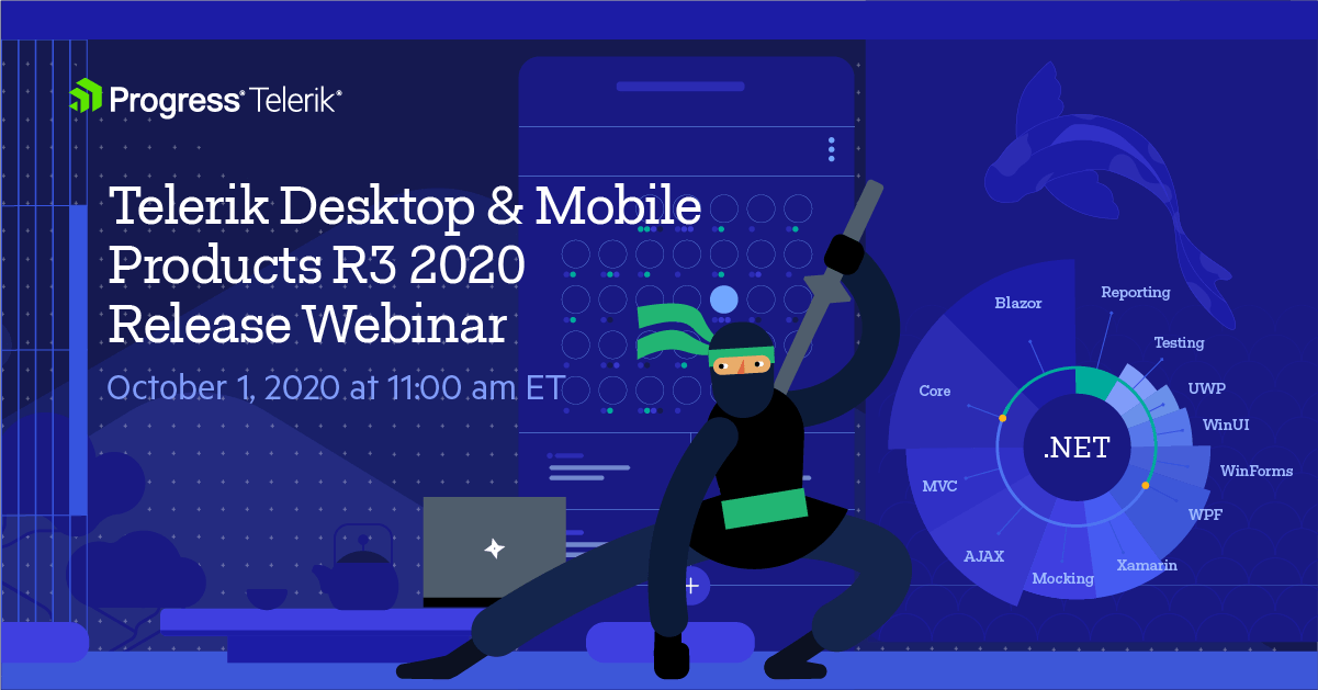 Telerik Desktop and Mobile R3 2020 Webinar