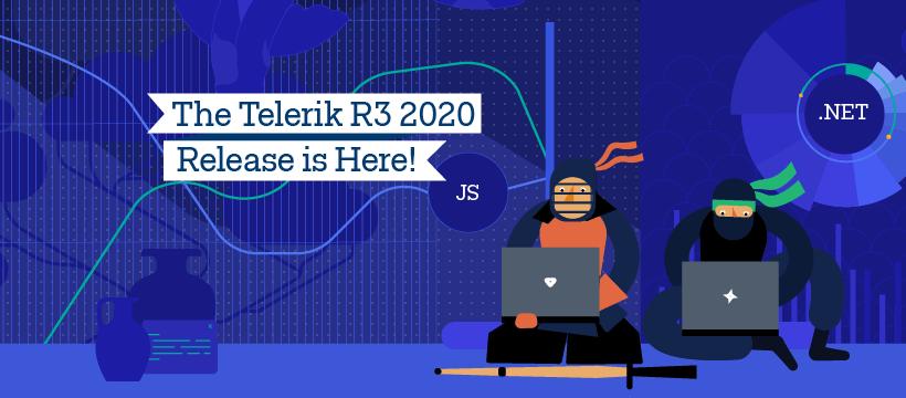 Telerik Kendo UI Release R3 2020