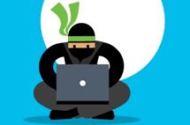 Telerik Ninja Using a Laptop