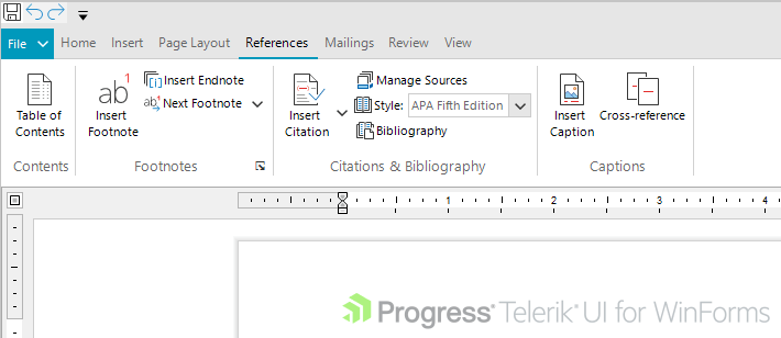 Telerik UI for WinForms Fluent Theme SVG Images Second Example