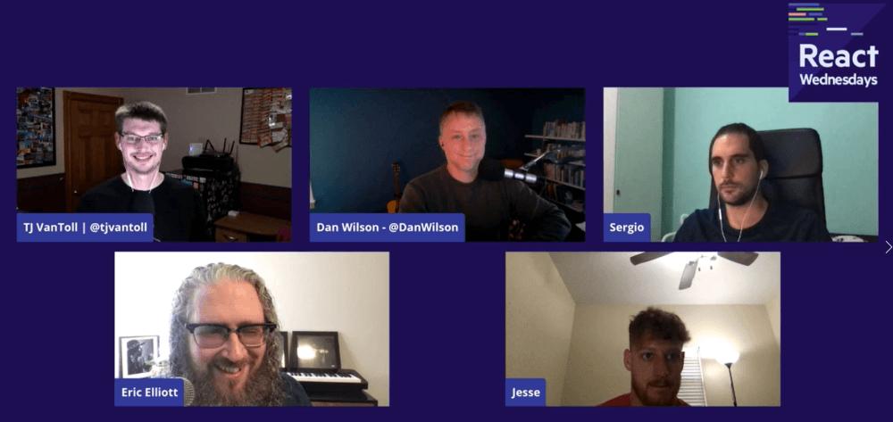 React Wednesdays with Eric Elliott - Talking RITEway Testing