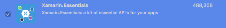 Xamarin Essentials: A kit of essential APIs for your apps