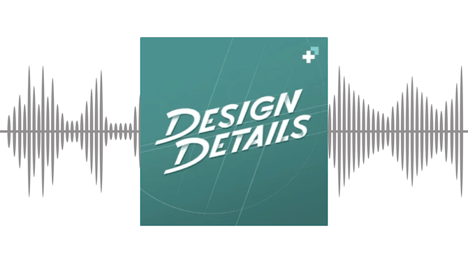 An overview of the Design Details podcast for designers and developers.