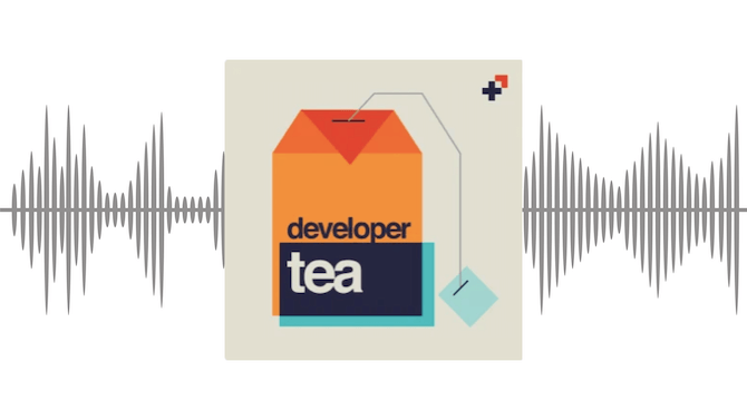 An overview of the Developer Tea podcast with bite-sized episodes for web developers.