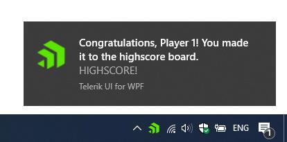 NotifyIcon Balloon - Telerik UI for WPF