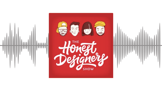An overview of The Honest Designers Show podcast for web designers at any stage of their career.