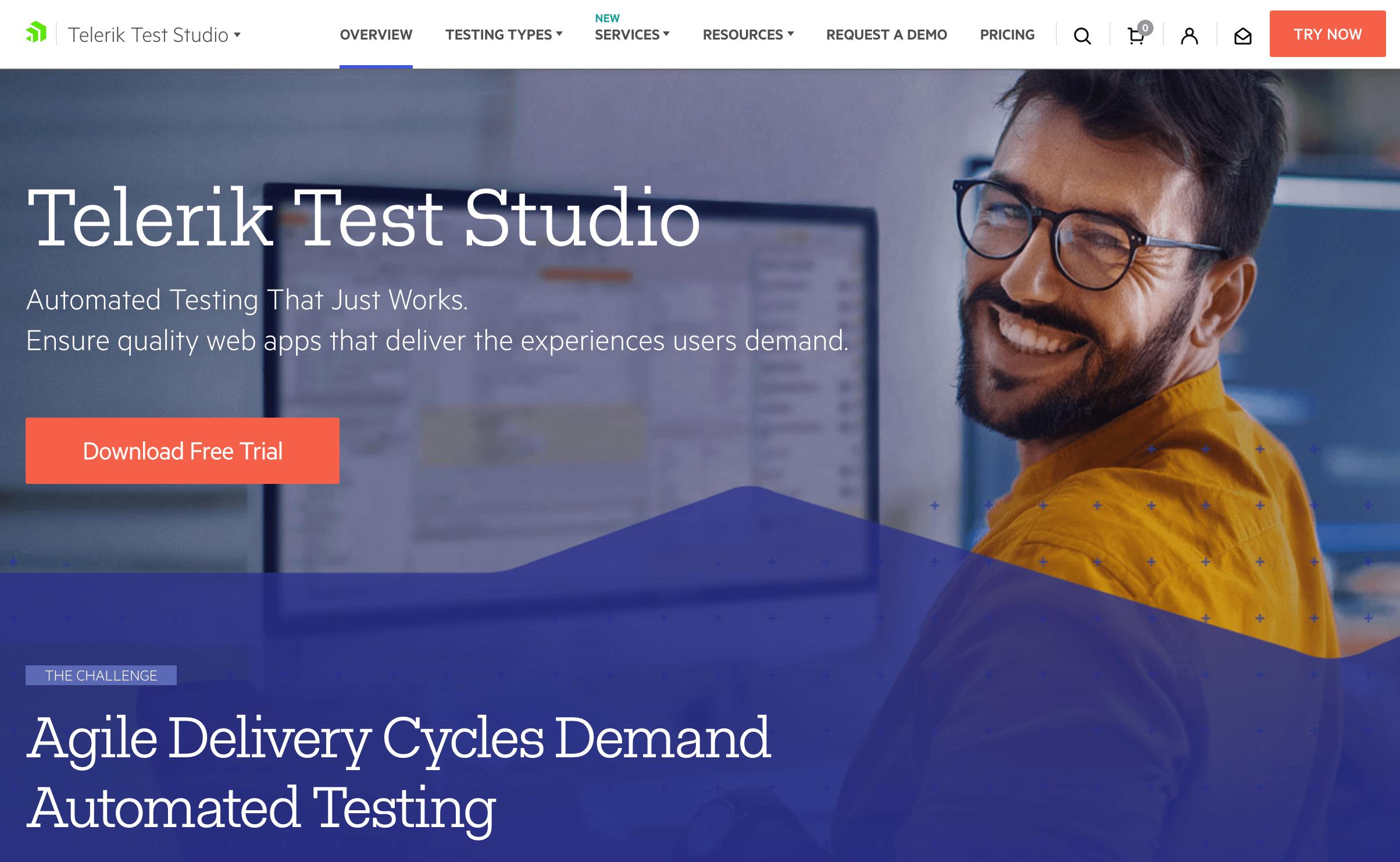 Telerik Test Studio