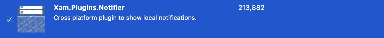 Xam.Notifier.Plugin Cross platform plugin to show local notifications