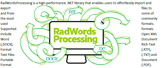 RadWords Processing image has text on both sides.