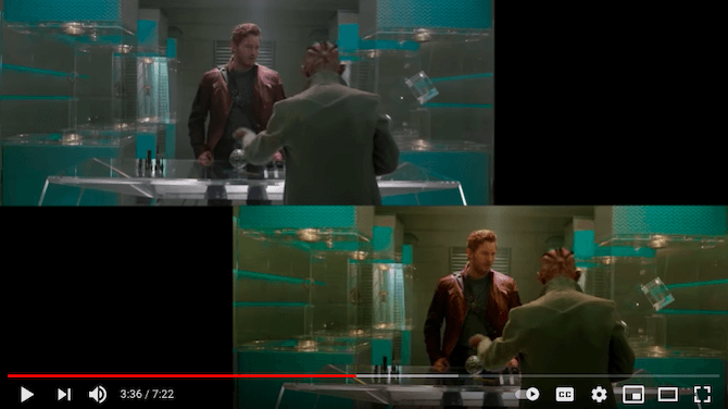 YouTube user Patrick (H) Willems demonstrates how a Guardians of the Galaxy scene featuring Star-Lord (played by Chris Pratt) can be edited to improve the image's grading.