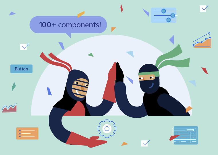 Kendo UI for Angular Celebrates 100+ Components